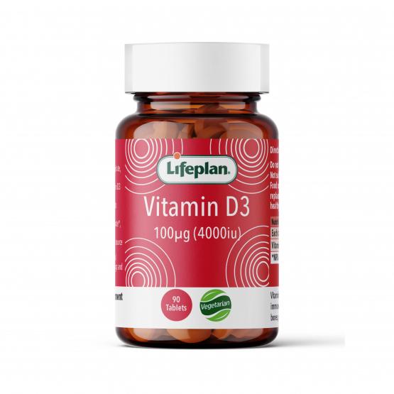 Vitamin D3 4000iu x 90