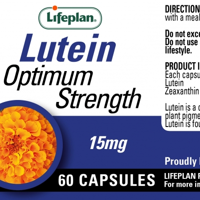 Lutein 15mg Supplement x 60 Capsules