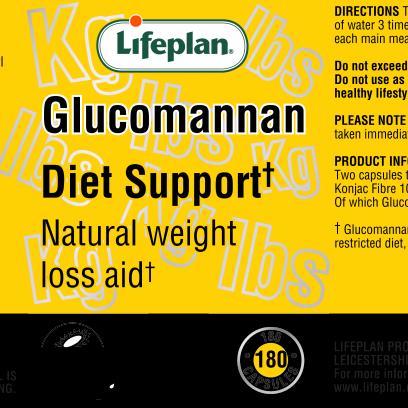 Glucomannan Diet Support  x 180