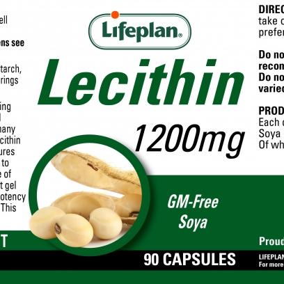 Lecithin 1200mg x 90